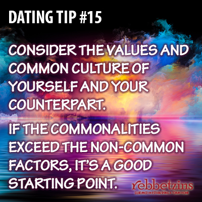 Consider the values and common culture of yourself and your counterpart. If the commonalities exceed the non-common factors, it's a good starting point.