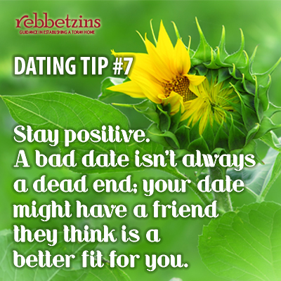 Stay positive. A bad date isn't always a dead end; your date might have a friend they think is a better fit for you.